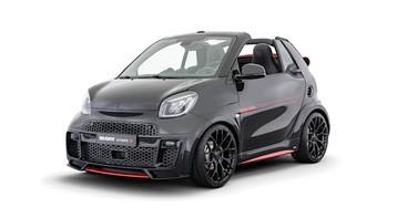 Brabus Utimate E brings unlikely machismo to the Smart EQ cabrio