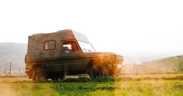 Lorinser rebuilds vintage G-Wagen as resto-modded camper
