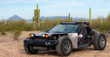 This stripped-down C5 Corvette is ready to hit the sand