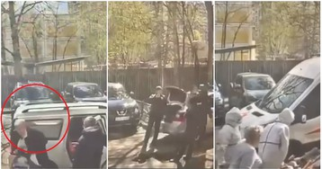 Врачи бросили зараженного коронавирусом старика в подъезде в Москве