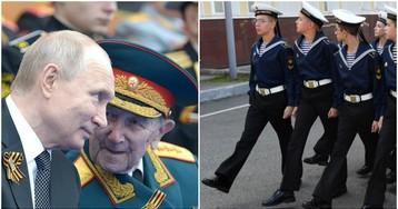 СМИ: почти 400 участников репетиций парада Победы в Москве заразились