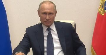 Режим «нерабочих дней» в России закончен - Путин