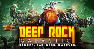 Now Available on Steam - Deep Rock Galactic