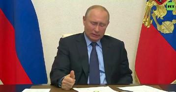 Путин сообщил еще об одном министре, подхватившем коронавирус