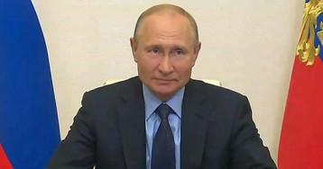 """Путин об эпидемии в РФ: """"ситуация меняется"""". Статистика вдруг стала лучше"""