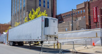 FDA Says Refrigerated Trucks Used for Storing COVID-19 Victims Can Haul Food After Being Cleaned