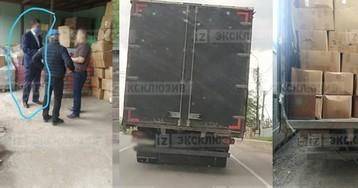 Партию масок из Китая за 28 млн рублей дерзко похитили с грузовиками в Москве