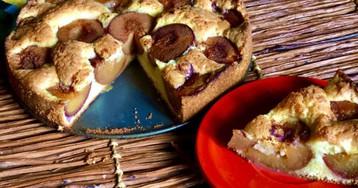 Знаменитый сливовый пирог от Марион Буррос