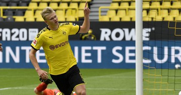 Ranking the best goals from the Bundesliga's return this weekend