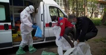 Ukraine doctors struggle with coronavirus