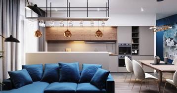 Проект недели: квартира с удобной планировкой для большой семьи