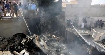 Pakistan International Airlines plane crashes into residential neighborhood