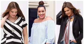 Что носить пышкам, чтобы выглядеть стильно и современно