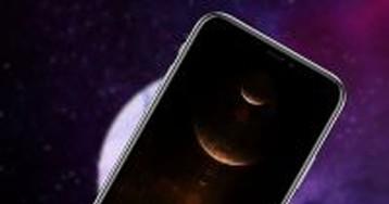 10 тёмных космических обоев для iPhone. Целые планеты
