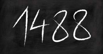 Что значит 1488 или 14/88. Почему 1488 является экстремистским символом