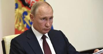 Путин бросил ручку во время совещания