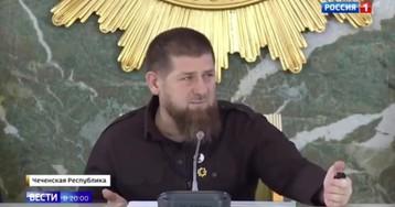 Кадыров впервые показался на публике после слухов о заражении