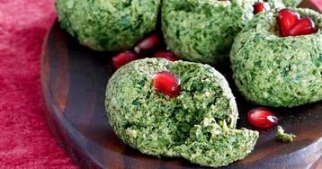 Пхали из свежей зелени