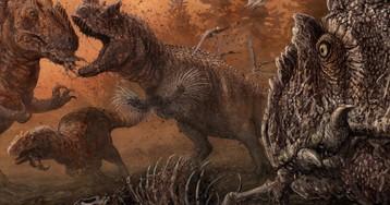 Динозавры стали каннибалами в трудные для них времена