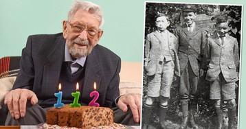 В Великобритании умер старейший мужчина в мире