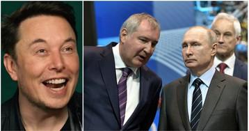 «Батут работает»: НАСА и Маск в прямом эфире посмеялись над Рогозиным