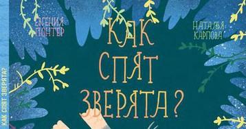 Евгения Гюнтер: «Как спят зверята?». Рецензия