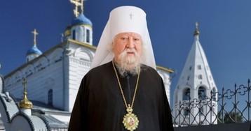 Ушел из жизни митрополит Варнава, заразившийся коронавирусом