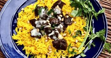 Мансаф, национальное блюдо Иордании