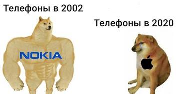 Собака-качок: мем с двумя собаками - большой и маленькой. Доге и Чимс
