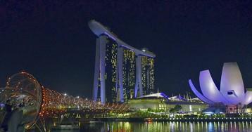 Сингапур. Одна ночь в Marina Bay Sands.