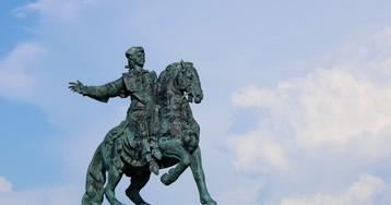 Памятник Елизавете Петровне в Балтийске.