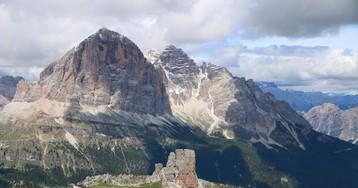 Доломиты-2020: поход Cinque Torri & Nuvolau, 2575 м