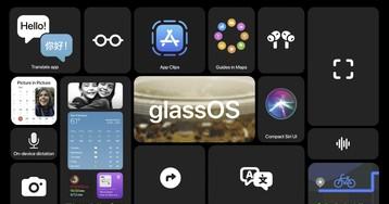 Концепт: как может выглядеть glassOS «умных» очков Apple