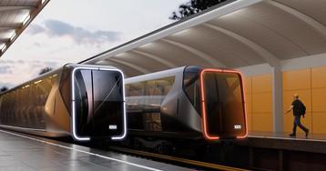 Студия Лебедева показала поезд метро будущего