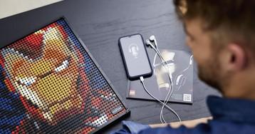 Lego анонсировала новую линейку Art — пиксельные картинки из деталек
