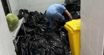 Главу томского депздрава уволили из-за фото с мешками из ковидного мopга