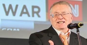 Жириновский заявил, что готов встать на колени перед жителями Хабаровска