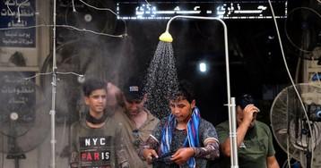Багдад: рекордная температура подогревает протест