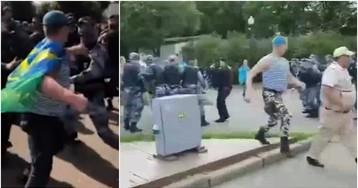 Росгвардия прокомментировала беспорядки с ВДВ в парке Горького