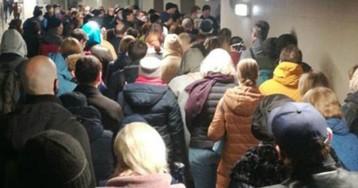 Облава в метро: полиция начала массово штрафовать пассажиров в Москве