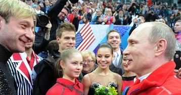 Плющенко: «Хочу, чтобы Путин был президентом как можно дольше»