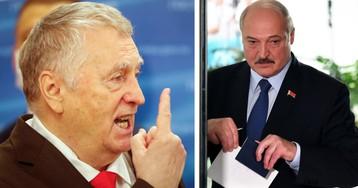 Жириновский: Лукашенко уже проиграл, режиму конец