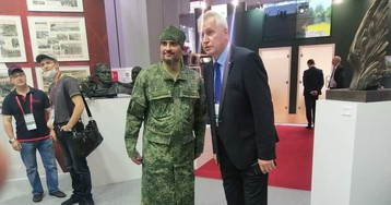 В РПЦ не одобрили военные камуфляжные рясы