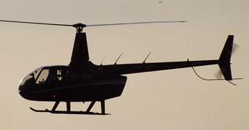 В горах Сочи разбился частный вертолет