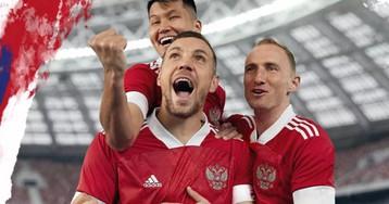 Adidas обновил форму сборной России по футболу