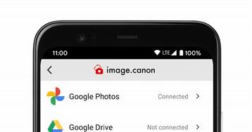 Камеры Canon теперь могут загружать снимки напрямую в Google Photos