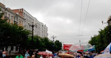 В Хабаровске прошло восьмое шествие в поддержку Фургала