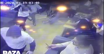 В московской хинкальной подрались фанаты «Зенита» и «Локомотива»
