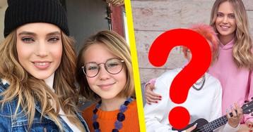 «Караул!» 13-летняя дочь Глюкозы на фото выглядит старше мамы