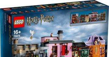 LEGO выпустила набор «Косой переулок» по вселенной Гарри Поттера